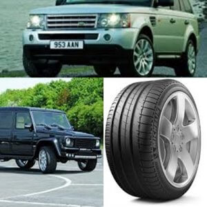 neumáticos de 4x4 o todoterreno de carretera