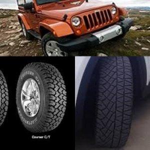 neumáticos de 4x4 o todoterreno mixtos