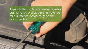 cambiar filtro de aire facil