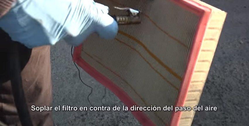 Como limpiar y mantener el filtro de aire