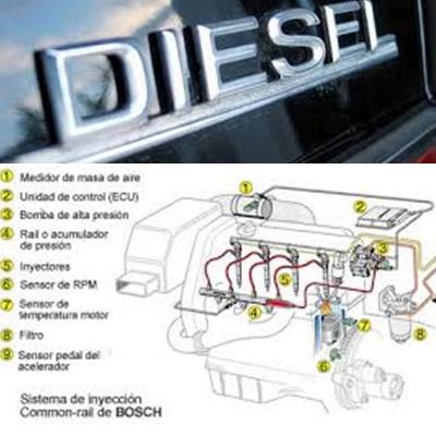 bomba de inyección diesel reparación