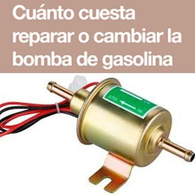 cambiar una bomba de gasolina
