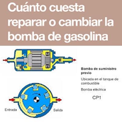 cambiar bomba de gasolina