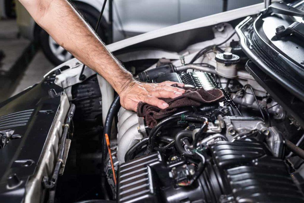 Motor de coche