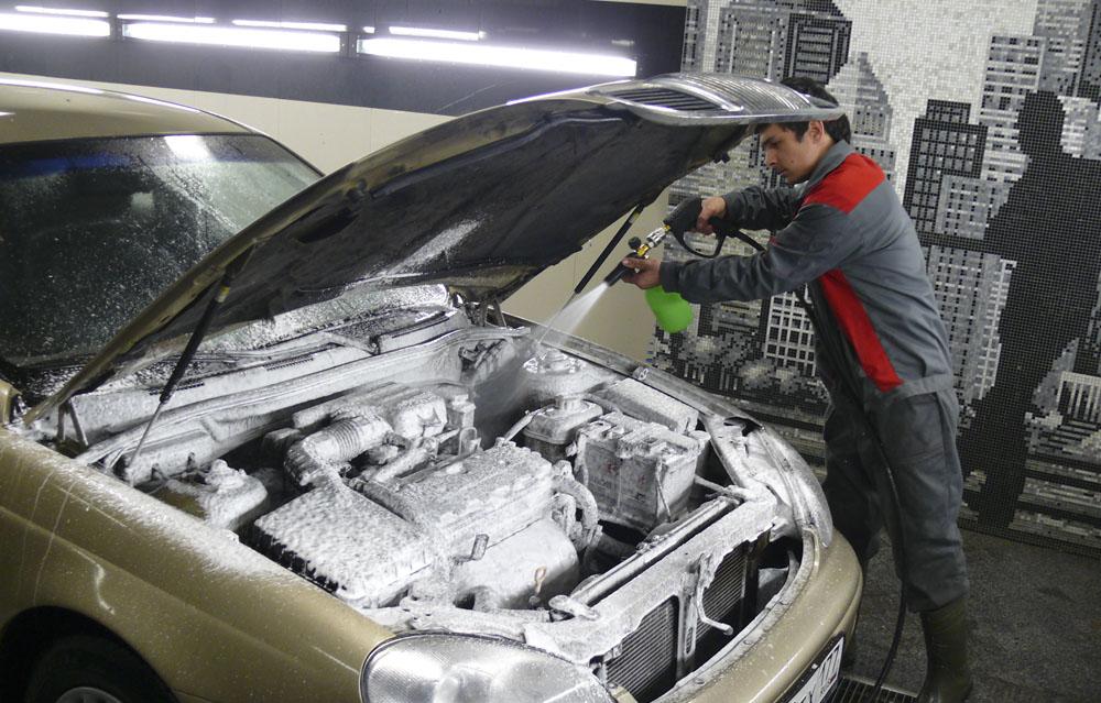 cómo limpiar un motor adecuadamente
