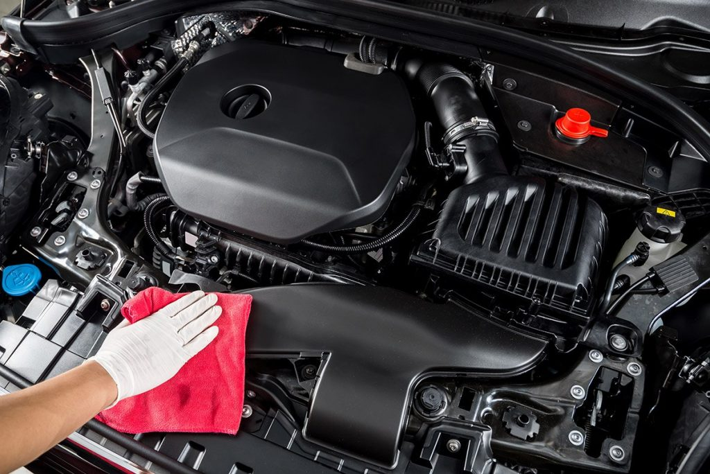 limpiar un motor sin estropear nada